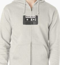 Format Mix-Up Zipped Hoodie