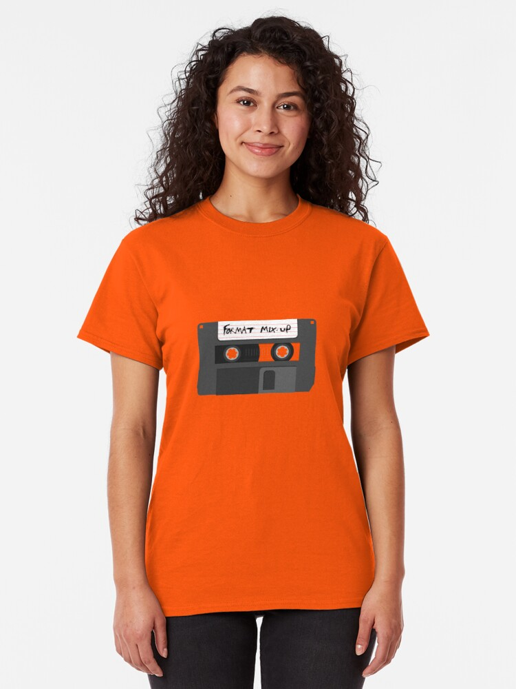 Alternate view of Format Mix-Up Classic T-Shirt
