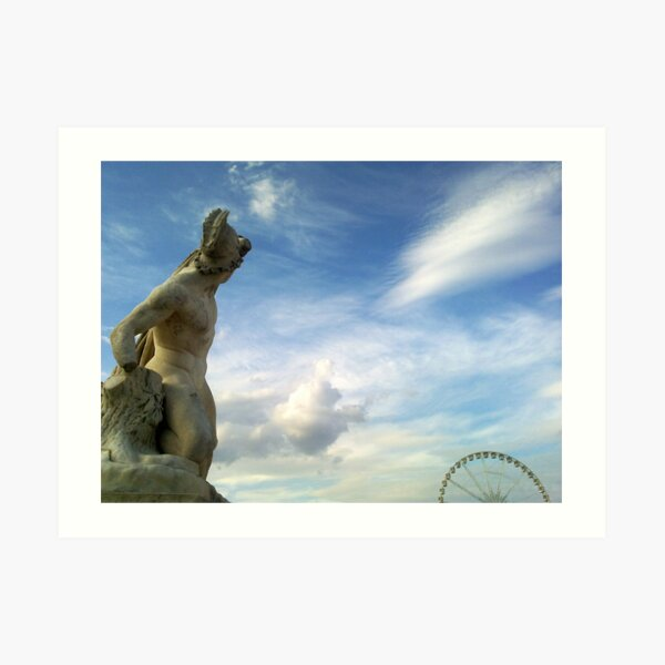 Jardin des Tuileries Impression artistique