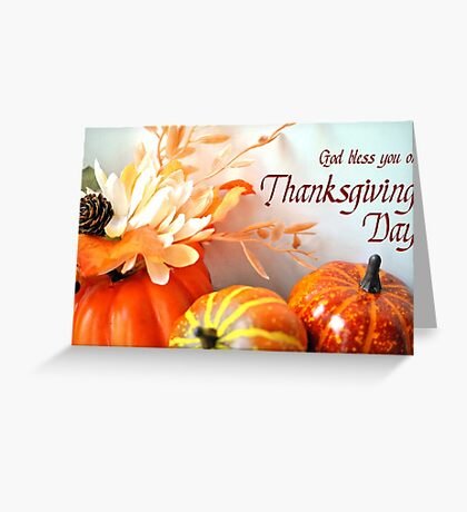 A Thanksgiving Blessing Greeting Card