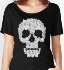 Skulls are for Pussies Women's Relaxed Fit T-Shirt