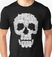 Camiseta unisex Los cráneos son para coños