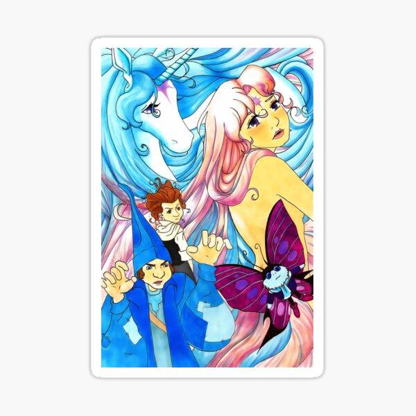 Last Unicorn Sticker