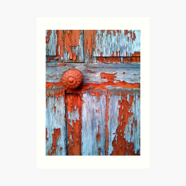 Porte en bois Impression artistique