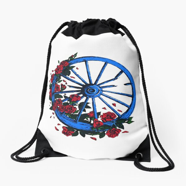 Grateful Dead Wheel Mochila saco