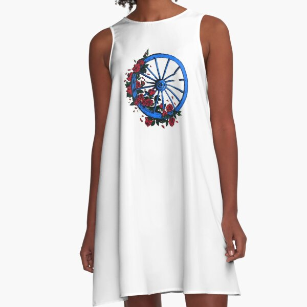 Grateful Dead Wheel A-Line Dress
