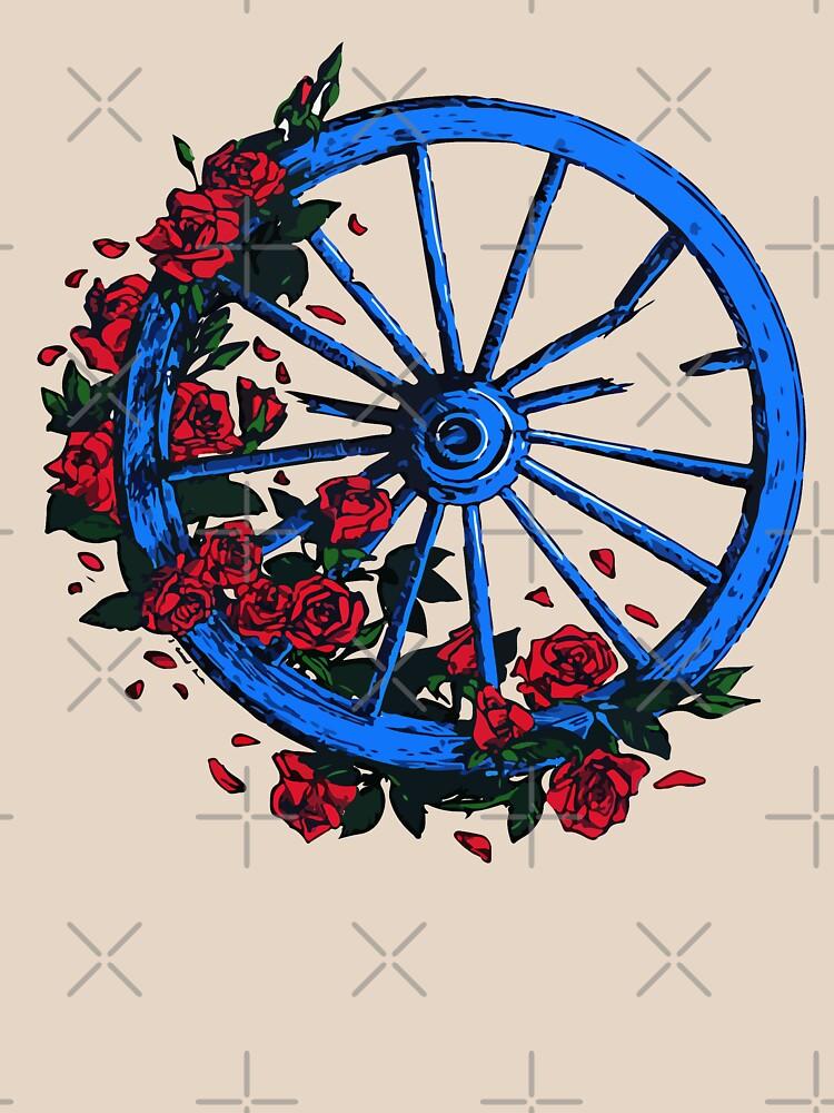 Grateful Dead Wheel by shaylikipnis