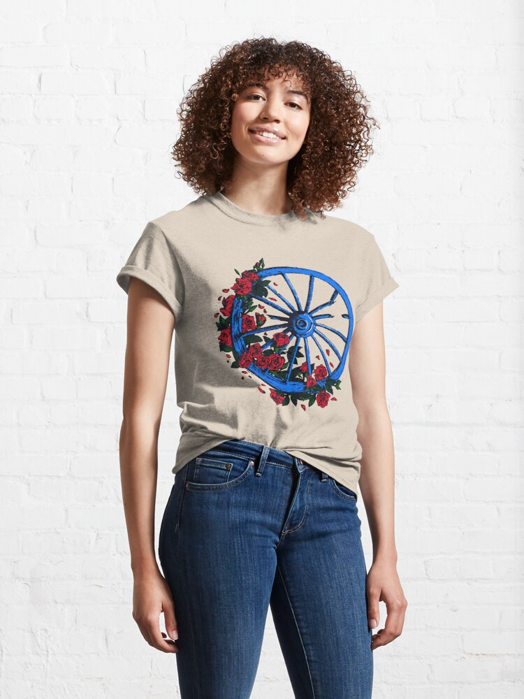 Alternate view of Grateful Dead Wheel Classic T-Shirt