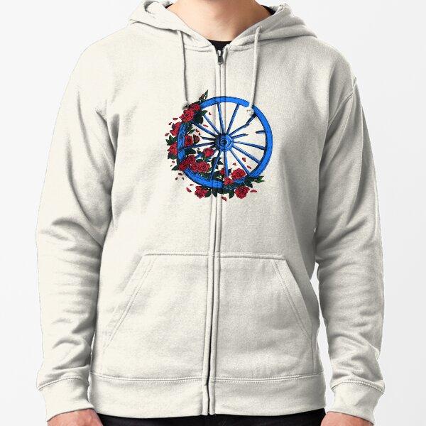 Grateful Dead Wheel Zipped Hoodie
