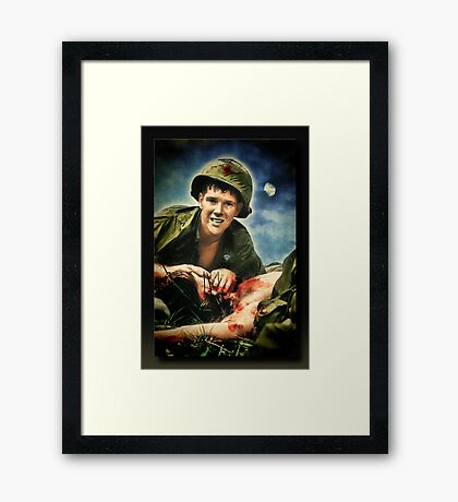 The Corpsman Framed Print
