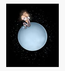 Lost in a Space / Uranusia Photographic Print