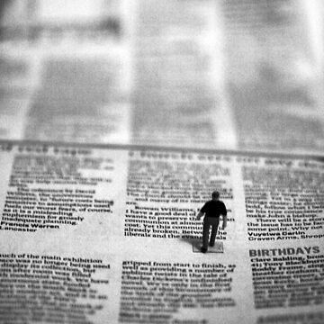 Small Person Big Broadsheet by CraMation