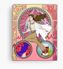 Sherlock Nouveau - Molly Hooper Canvas Print