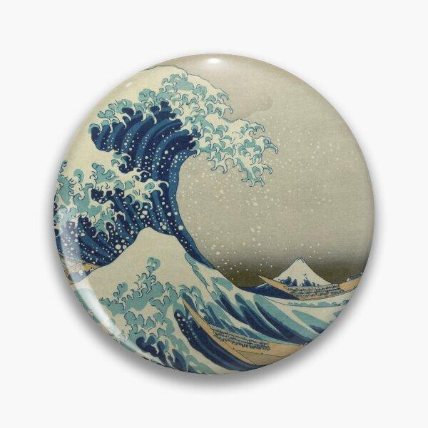 Great Wave Badge Pin