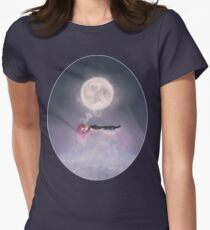 Moonsende / Back to Home Womens Fitted T-Shirt