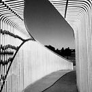 A Perth Bridge in B&W by Eve Parry