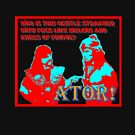 Ator the Invincible!  bright for dark backgrounds by Margaret Bryant