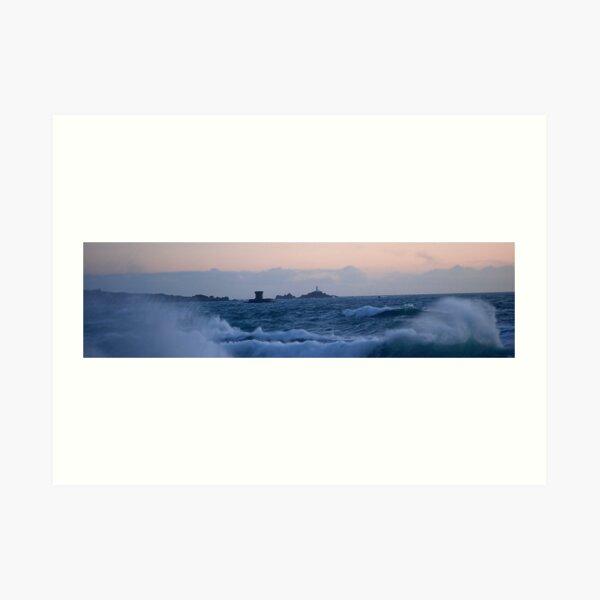 High Tide in Jersey Art Print