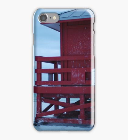 red, with tin roof iPhone Case/Skin