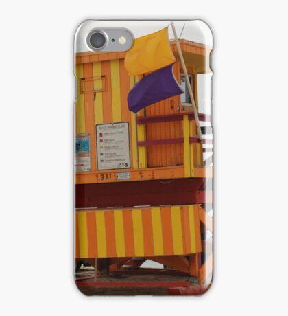 stripes - miami beach iPhone Case/Skin