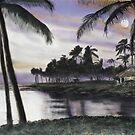 Little Grass Shack in Hawaii by David M Scott