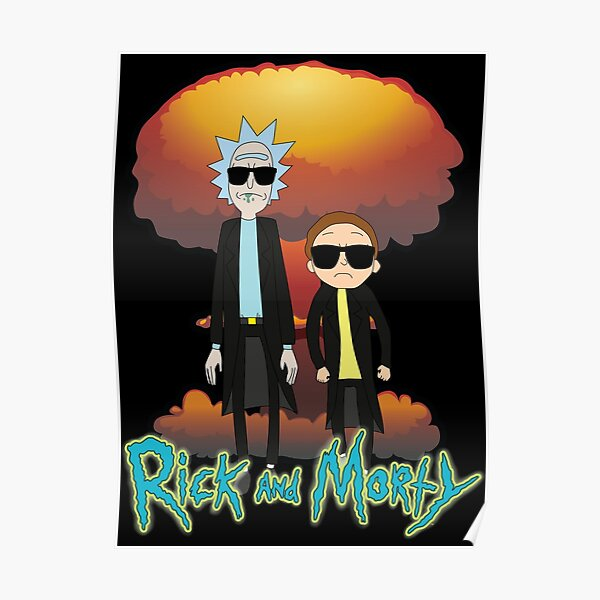 Rick And Morty The Expolsion Poster