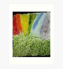 Genesis Laurel Rainbow Art Print