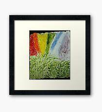 Genesis Laurel Rainbow Framed Print