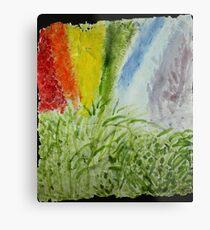 Genesis Laurel Rainbow Metal Print