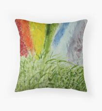 Genesis Laurel Rainbow Throw Pillow