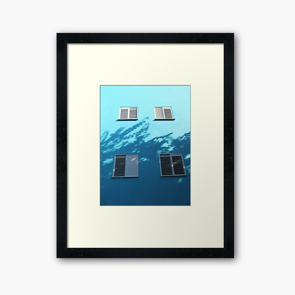 So we talked about the weather Framed Art Print
