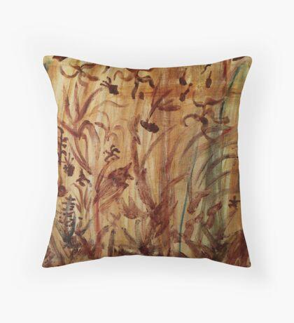 Underwater Safari Throw Pillow