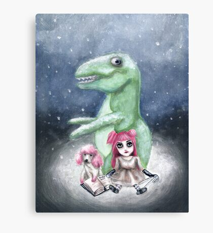 Kimmy and Rex Canvas Print