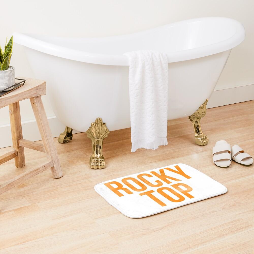 Rocky Top Tie Dye Bath Mat