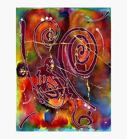 Swirls Photographic Print