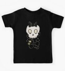 Girly Skull with Black Bow / Die for Music Kids Tee