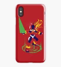 Mega Man Zero Splattery Shirt & iPhone Case iPhone Case/Skin
