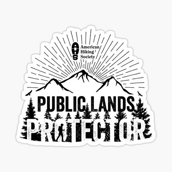 Public Lands Protector Sticker
