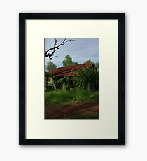 Bush Gaol Framed Print
