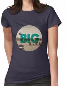 The Big Sleep Tee Womens Fitted T-Shirt