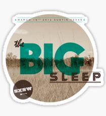The Big Sleep Tee Sticker