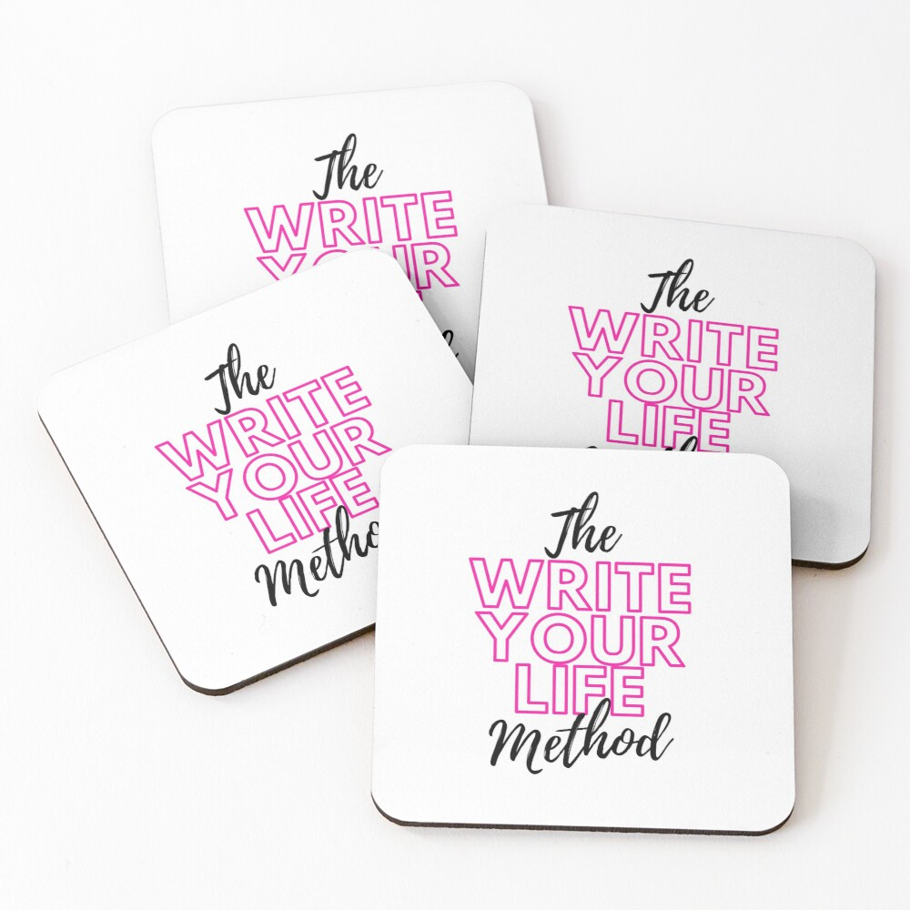 The Write Your Life Method Coasters (Set of 4)