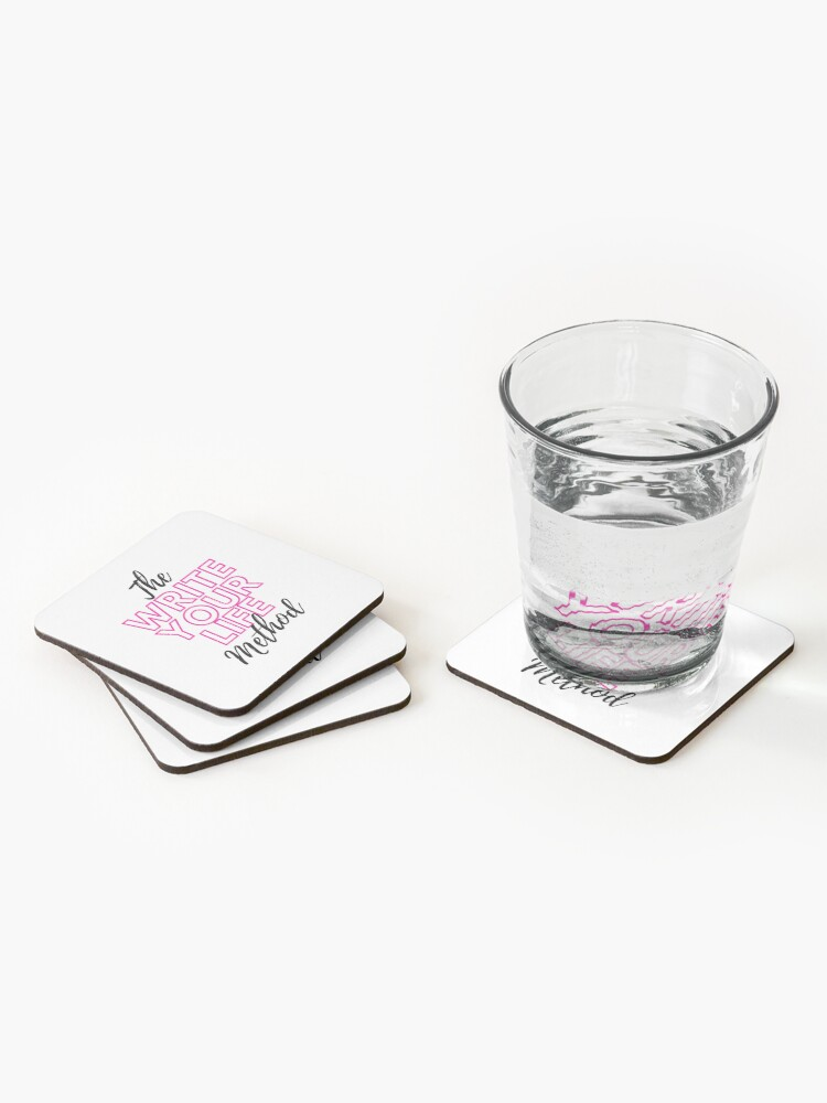 Alternate view of The Write Your Life Method Coasters (Set of 4)