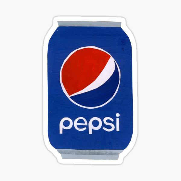Pepsi Can Scissors Art Pegatina