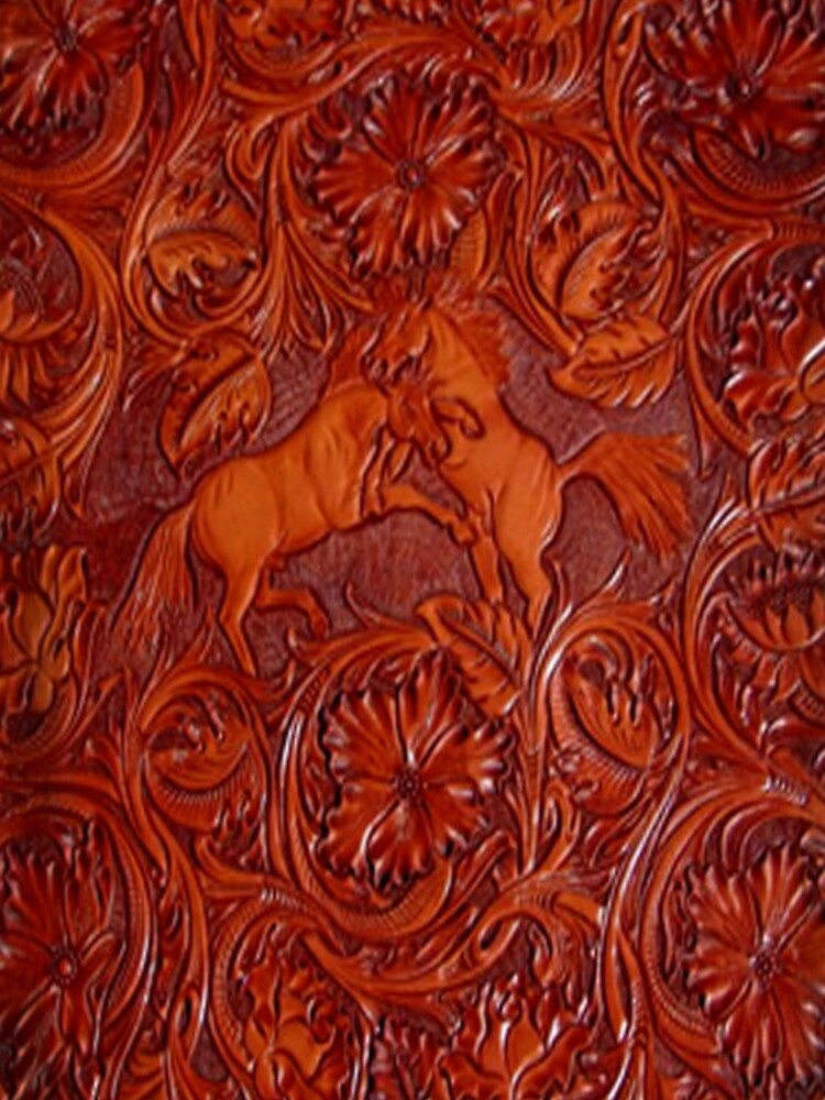 wild horses leather by jashumbert
