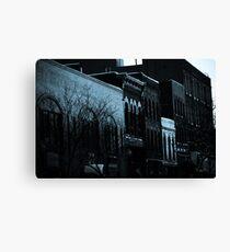 Architecture of Denver Canvas Print