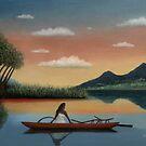 Tahitian Morning by Gordon Beck