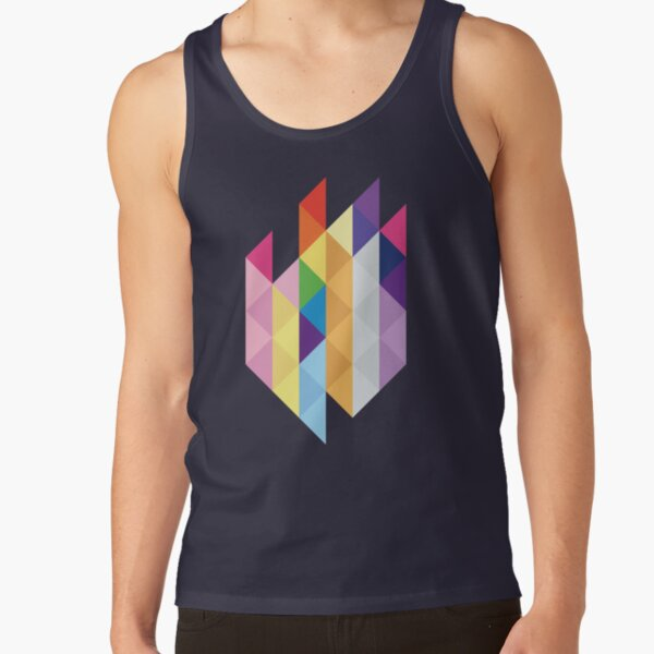 My Little Pony - Mane Six Abstraction I Tank Top