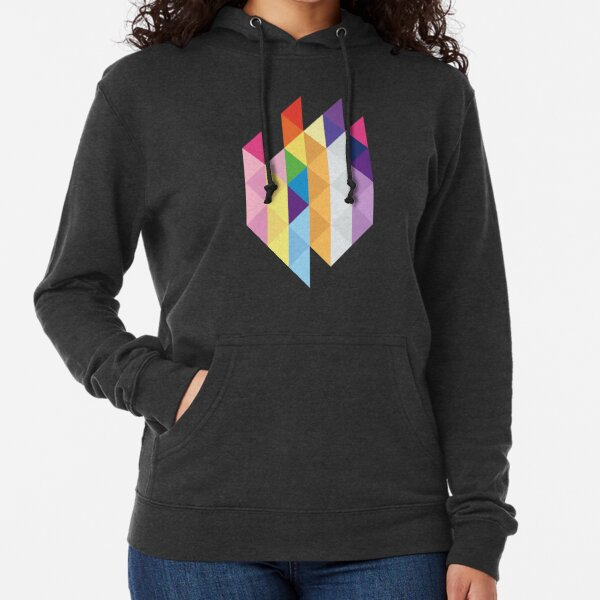 My Little Pony - Mane Six Abstraction I Lightweight Hoodie