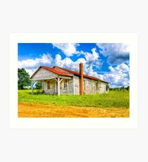 Old Country Store - Rural Georgia Landscape Art Print
